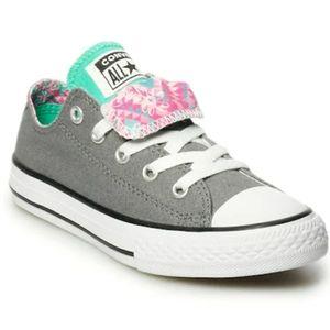Girls' Converse Chuck Taylor Double Tongue Shoe